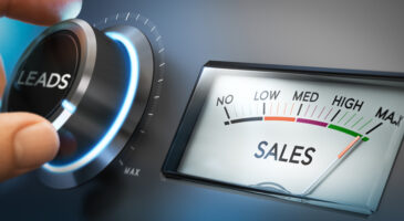 sales converting leads